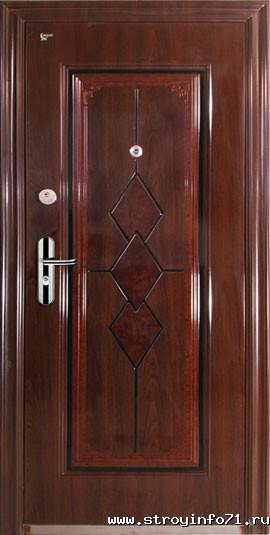 стоимость железной входной двери на 90 см